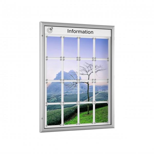 InfoSelect® FLACHSCHAUKASTEN 16 x DIN A4