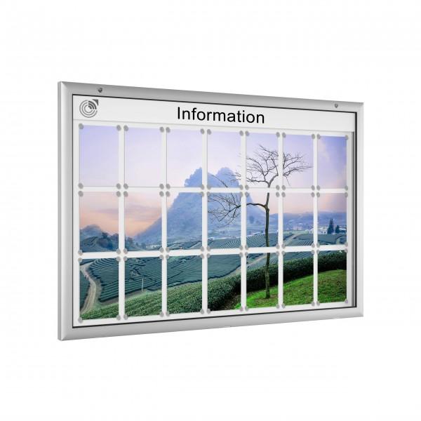 InfoSelect® FLACHSCHAUKASTEN 21 x DIN A4