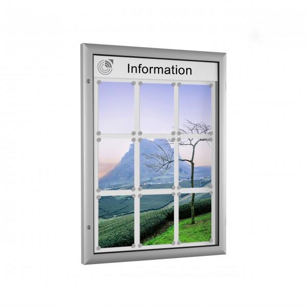 InfoSelect® FLACHSCHAUKASTEN 9 x DIN A4