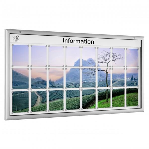 InfoSelect® FLACHSCHAUKASTEN 24 x DIN A4