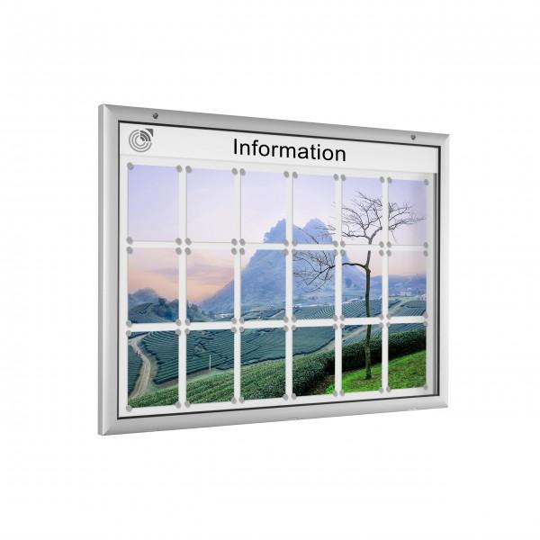 InfoSelect® FLACHSCHAUKASTEN 18 x DIN A4