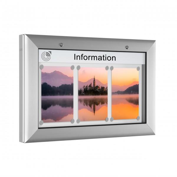 InfoSelect® SOFTLINE-SCHAUKASTEN 3 x DIN A4