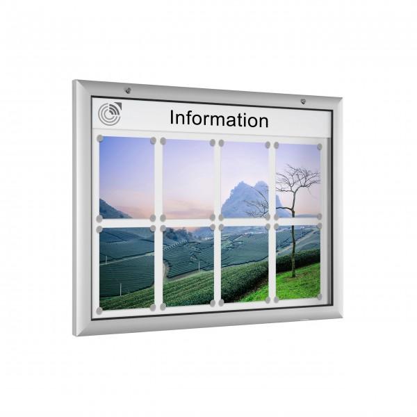 InfoSelect® FLACHSCHAUKASTEN 8 x DIN A4