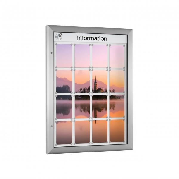 InfoSelect® SOFTLINE-SCHAUKASTEN 16 x DIN A4