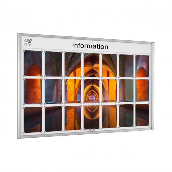 InfoSelect® EINFACH-SCHAUKASTEN 21 x DIN A4
