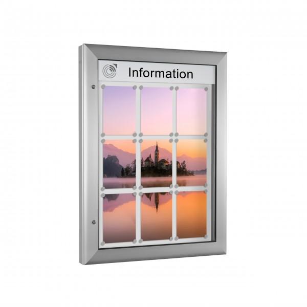 InfoSelect® SOFTLINE-SCHAUKASTEN 9 x DIN A4